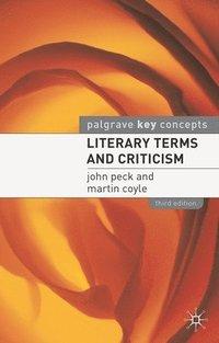 bokomslag Literary Terms and Criticism