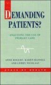 bokomslag Demanding Patients?