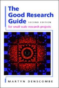 bokomslag The Good Research Guide