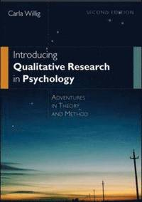 bokomslag Introducing qualitative research in psyc : adventures in theory and method
