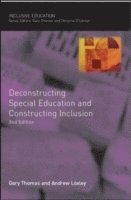 bokomslag Deconstructing Special Education and Constructing Inclusion