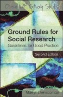 bokomslag Ground Rules for Social Research