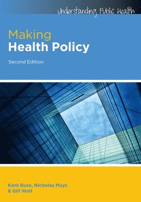 bokomslag Making Health Policy