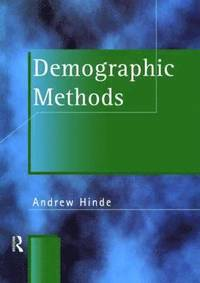 bokomslag Demographic Methods