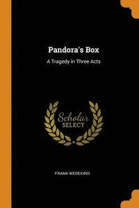 bokomslag Pandora's Box