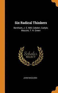 bokomslag Six Radical Thinkers