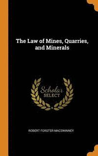 bokomslag The Law of Mines, Quarries, and Minerals
