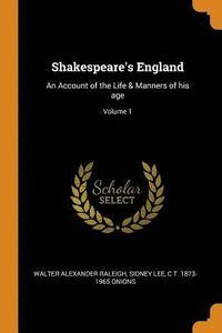 bokomslag Shakespeare's England