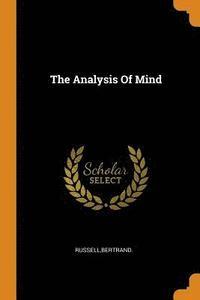 bokomslag The Analysis of Mind