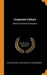 bokomslag Corporate Culture