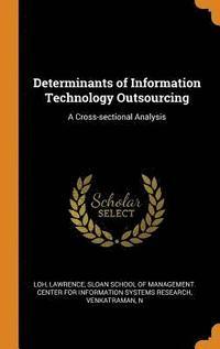 bokomslag Determinants of Information Technology Outsourcing