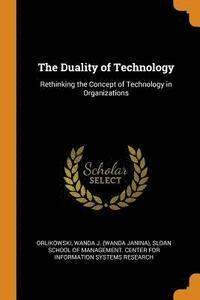 bokomslag The Duality of Technology