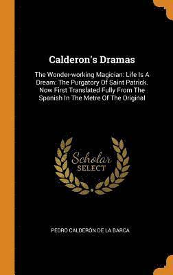 bokomslag Calderon's Dramas