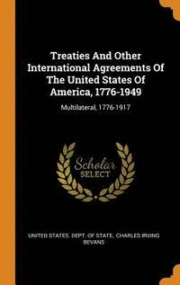 bokomslag Treaties and Other International Agreements of the United States of America, 1776-1949
