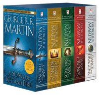 bokomslag Game of Thrones, 5 vol box