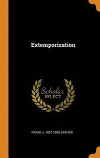 bokomslag Extemporization