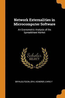 bokomslag Network Externalities in Microcomputer Software