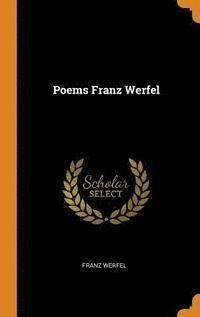 bokomslag Poems Franz Werfel