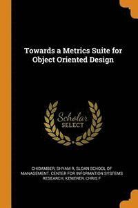 bokomslag Towards a Metrics Suite for Object Oriented Design