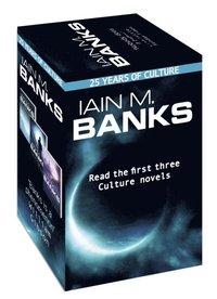 bokomslag Iain M. Banks Culture - 25th anniversary box set