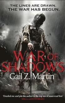 bokomslag War of Shadows: Book 3 of the Ascendant Kingdoms Saga