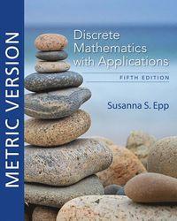 bokomslag Discrete Mathematics with Applications, Metric Edition