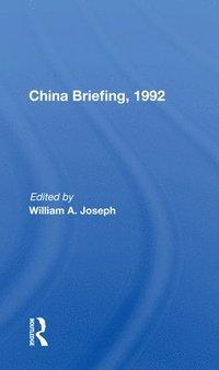 bokomslag China Briefing, 1992