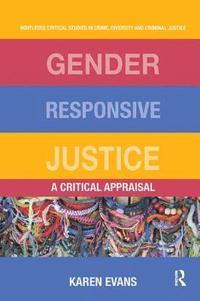 bokomslag Gender Responsive Justice