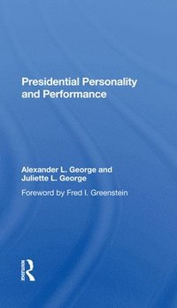 bokomslag Presidential Personality And Performance