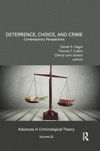 bokomslag Deterrence, Choice, and Crime, Volume 23