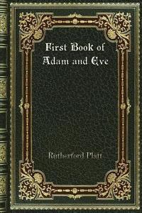 bokomslag First Book of Adam and Eve