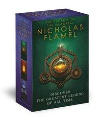 bokomslag Secrets Of The Immortal Nicholas Flamel Boxed Set (3-Book)