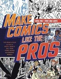 bokomslag Make Comics Like The Pros