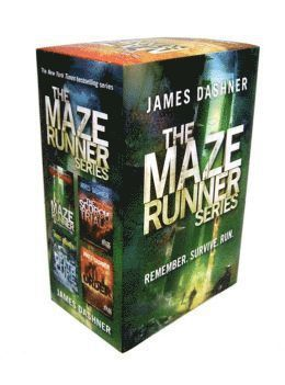 bokomslag Maze Runner Series Box Set