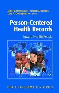 bokomslag Person-Centered Health Records