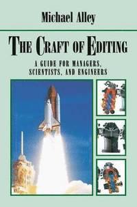 bokomslag The Craft of Editing