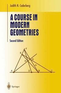 bokomslag A Course in Modern Geometries
