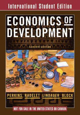 bokomslag Economics of development