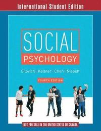 bokomslag Social Psychology