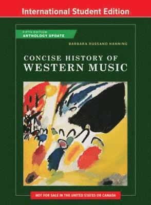 bokomslag Concise History of Western Music
