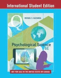 bokomslag Psychological Science