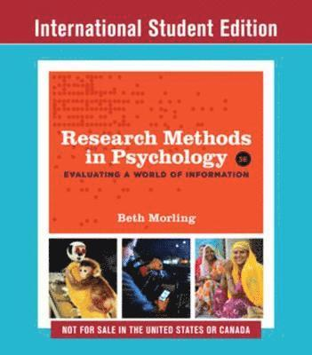bokomslag Research Methods in Psychology: Evaluating a World of Information