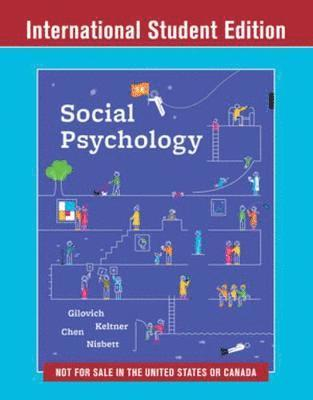 bokomslag Social Psychology