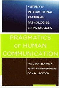 bokomslag Pragmatics of Human Communication