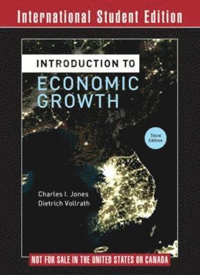bokomslag Introduction to Economic Growth