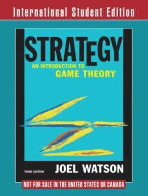 bokomslag Strategy: An Introduction to Game Theory