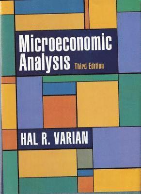 Microeconomic Analysis 1