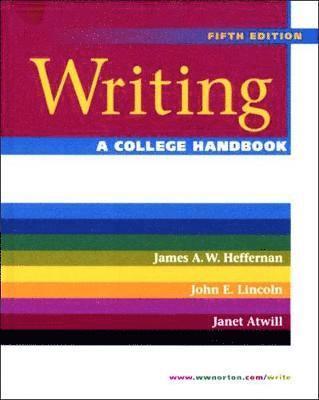 bokomslag Writing: A College Handbook
