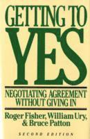 Getting to Yes 1