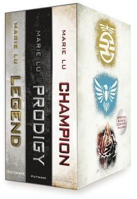 bokomslag Legend Trilogy Boxed Set